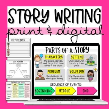 Story Writing Maps & Organizers