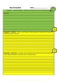 Story Planning Sheet