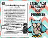 Story Plot Diagram Sort FREEBIE