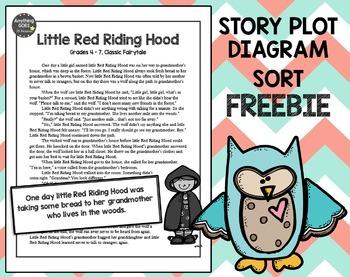 Story Plot Diagram Sort FREEBIE