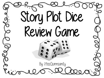 Story Plot Dice Review Game