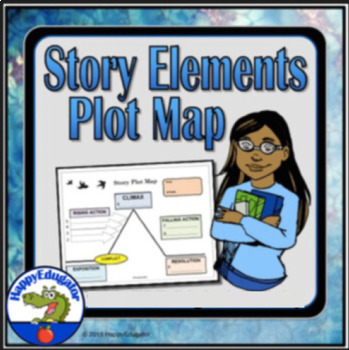 Story Elements Plot Map