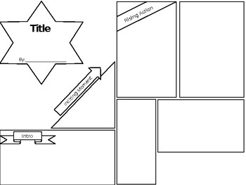 Story Plot Map Comic Strip Template
