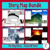 Story Plot Maps - Bundle for Google, Digital, or Traditonal Classrooms!