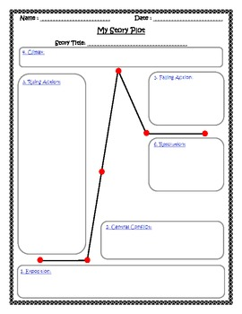 Story Plot Outline and Graphic Organizer