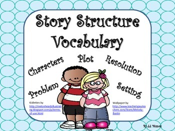Story / Plot Structure Vocabulary, Foldable, and Graphic O