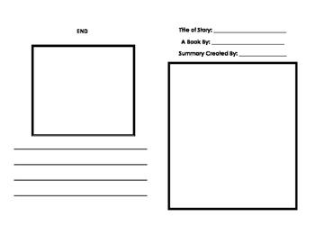 Story Plot Summary Booklet