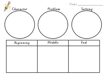 Story Pots Narrative ideas planner