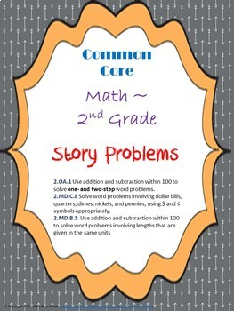 Story Problem Assessment Packet