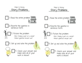Story Problem Check List