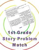Story Problem Equation Match--1st Grade