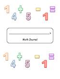 Story Problem Math Notebook