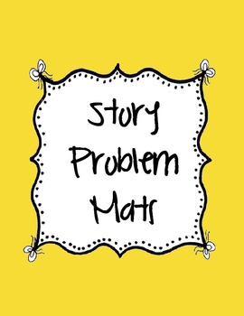 Story Problem Mats