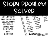 FREEBIE Story Problem Helper