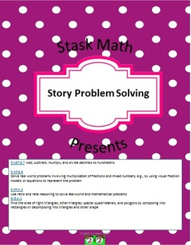 Fraction Story Problem Solving