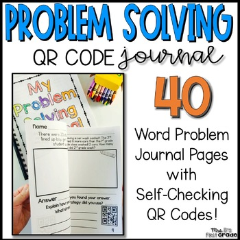 Story Problem Solving Journal - With QR Codes!