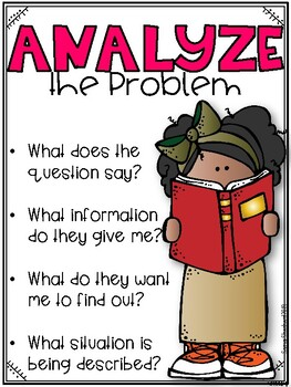 Word Problem Strategy Posters