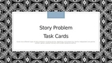Math Word Problem Cards