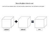 Story Problem Work-mats