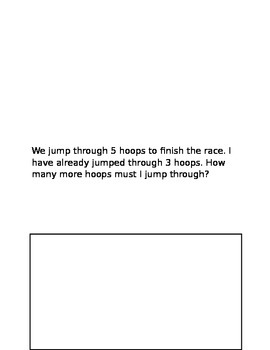 Story Problems 1st grade, 1st quarter