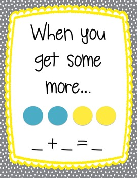 Kindergarten Story Problems {14 Story Problems with Addition and Subtraction}