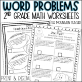Addition and Subtraction Word Problems Worksheets | Printa