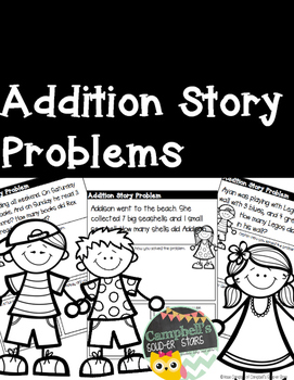 Story Problems {Addition w/o regrouping}
