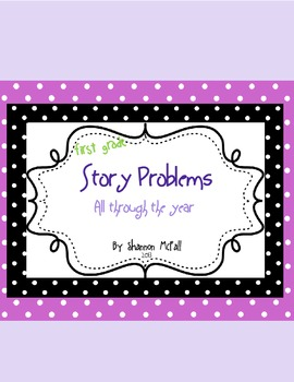 Story Problems All Through the Year