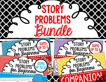 Story Problems Bundle - Color Coded  Story Problems