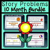 Story Problems Bundle for Use with Google Slides™