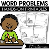 Addition and Subtraction Worksheets {Story Problems Seasonal Bundle}