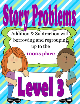 Story Problems Level 3