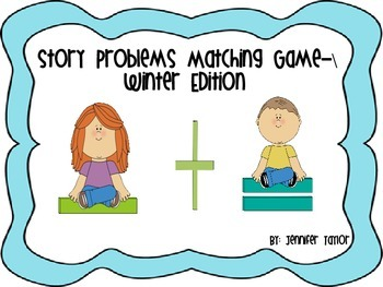 Story Problems Matching Game-Winter Edition