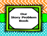 Story Problems Math Work Station-Inspired by Debbie Diller's Math Work Stations