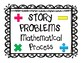 Story Problems Mathematical Process (Classroom Tool & Decor)