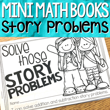 Story Problems { Mini Math Book }