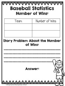 Story Problems (Project Based Learning, Write Your Own Problems)
