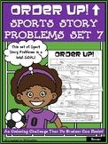 Story Problems - Sports Order Up! Set 7 (Soccer)