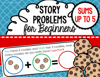 Story Problems for Beginners - Color Coded Story Problems