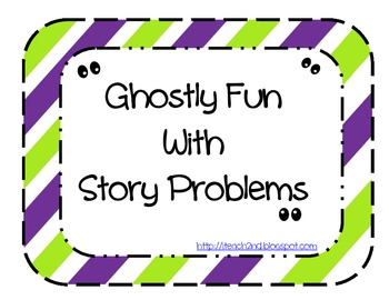 Story Problems for Halloween