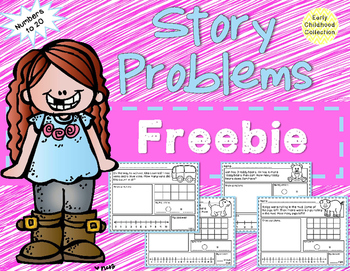 Story Problems to 20 Freebie {Word Problems}