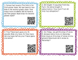 Story Problems with QR Codes
