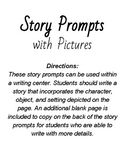 Story Prompts with Picture Cues