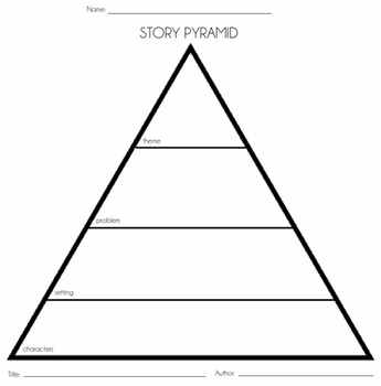 Story Pyramid For Story Elements