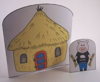 Story Re-Telling: The Three Little Pigs