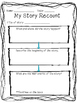 Story Recount Writing Template