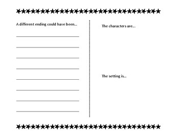 Story Response Booklet