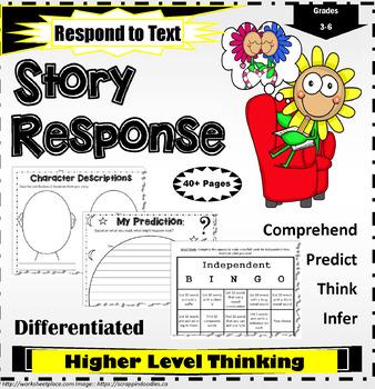 Story Response Worksheets