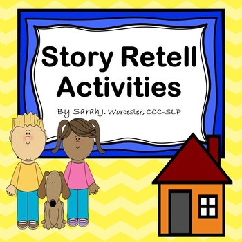 Story Retell Activities - Recenlty Updated!