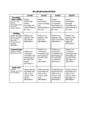 Assessment Rubric Template